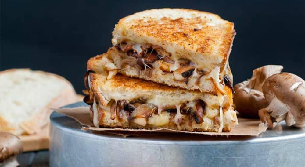 Smoked Swiss & Mushroom Grilled Cheese - Drink