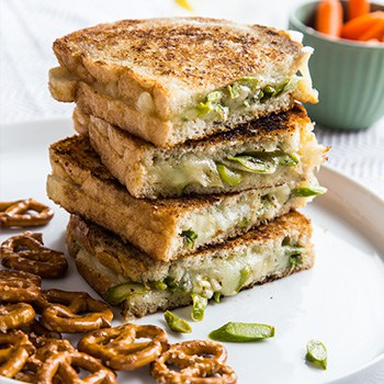 Photo of Asparagus Grilled Cheese