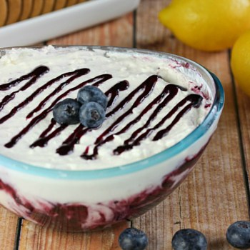 Photo of Blueberry Lemonade Fruit Dip