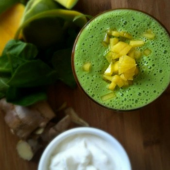 Photo of Mango Ginger Power Smoothie