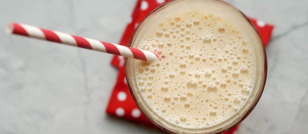 lactose free peanut butter breakfast shake