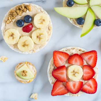 Photo of Peanut Butter Yogurt Fruit Pizzas
