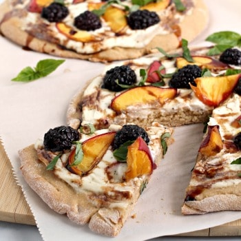 Photo of Creamy Summer Fruit Pizzas