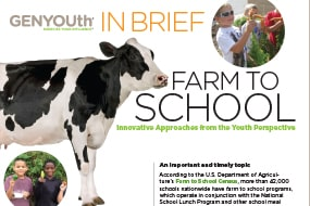 Farm to School from the Youth Perspective