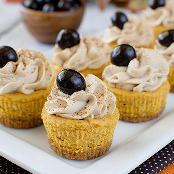Photo of Pumpkin Spice Latte Cheesecake Bites