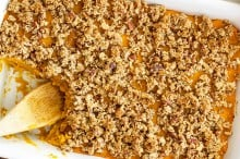 Cinnamon Maple Squash Casserole