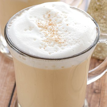 Photo of Eggnog Hot Chocolate