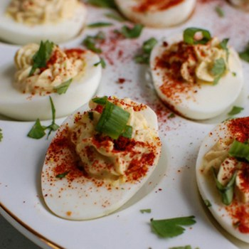 Photo of Southwestern Greek Yogurt Deviled Eggs