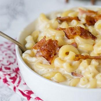 Photo of Creamy Bacon Macaroni and Cheese