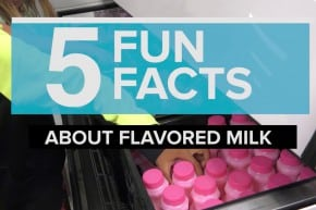 Five Fun Facts About Flavored Milk