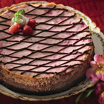 Photo of Chocolate Raspberry Cheesecake