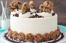 Milk and Cookies Cake by Life, Love and Sugar