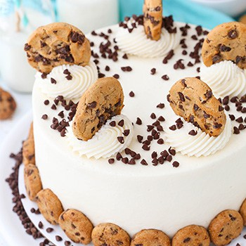 Photo of Milk & Cookies Cake