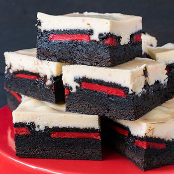 Photo of Peppermint Cheesecake Oreo Brownies