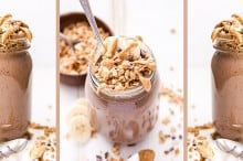 Chocolate PB Espresso Smoothie Parfait