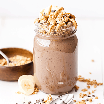 Photo of Chocolate Peanut Butter Espresso Smoothie Parfait
