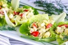 egg cobb salad