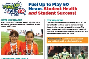 FUTP60 Means Student Health & Student Success