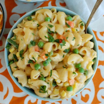 Photo of Instant Pot Vegetable Mac & Cheese
