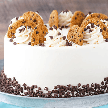 Photo of Oatmeal Chocolate Chip Cookie Ice Cream Cake