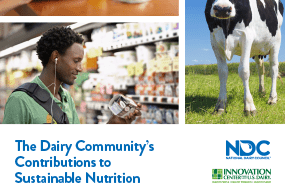 Dairy's Contributions to Sustainable Nutrition