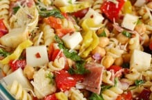 Italian Pasta Salad by A Cedar Spoon