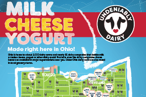 Milk, Cheese, Yogurt – Made Right Here in Ohio