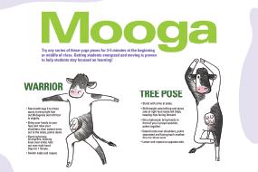 MOOga Yoga Poses