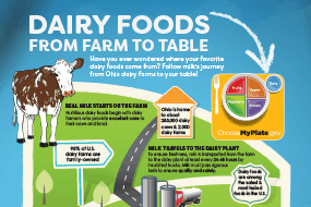 Ohio Dairy Foods From Farm to Table