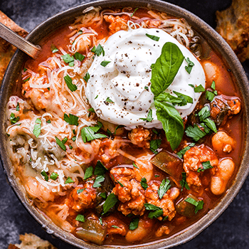 Photo of Slow Cooker Italian Turkey Chili