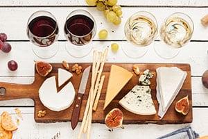 No Fuss Wine & Cheese Pairings