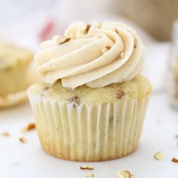 Photo of Brown Sugar Pecan Cupcakes