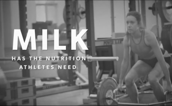 Milk has the Nutrition Athletes Need