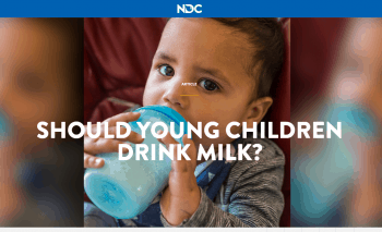 Should Young Children Drink Milk?