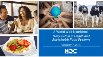 Dairy's Role in Health & Sustainable Food Systems