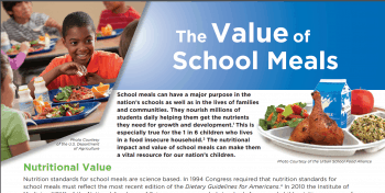 The Value of School Meals