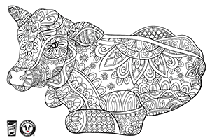Advanced Dairy Coloring Pages