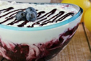 Blueberry Lemonade Fruit Dip