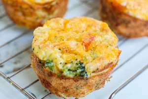 Broccoli Cheddar Cups