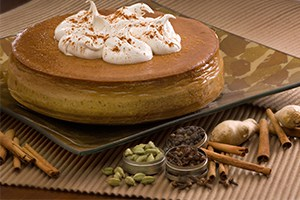 Chai Pumpkin Cheesecake