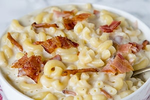 Creamy Bacon Macaroni and Cheese