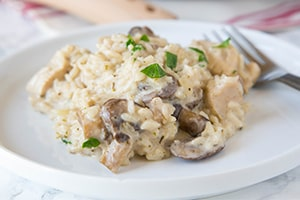 Creamy Stovetop Chicken and Rice
