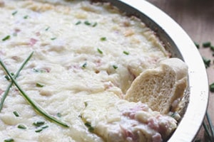 Hot Ham & Swiss Dip