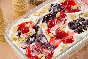 No-Churn Cheesecake Ice Cream