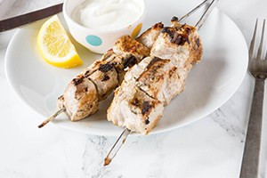 Yogurt Marinated Pork Kebobs
