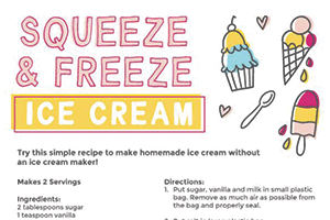 Squeeze & Freeze Ice Cream