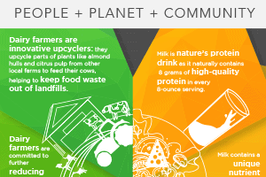 Sustainable Nutrition Infographic