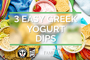 Easy Greek Yogurt Dips