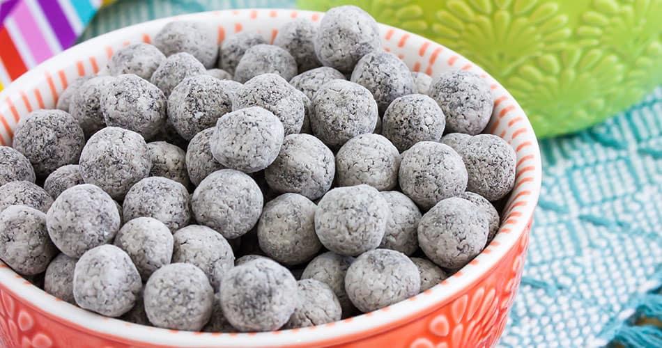 tapioca pearls in a bowl