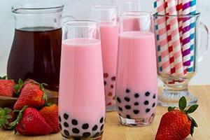 Strawberry Milk Bubble Tea